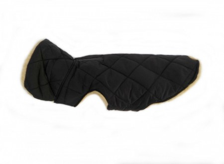 Quilted Jacket, Black